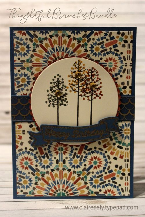 Thoughtful Branches Stampin Up by Claire Daly Stampin Up! Demonstrator Melbourne…