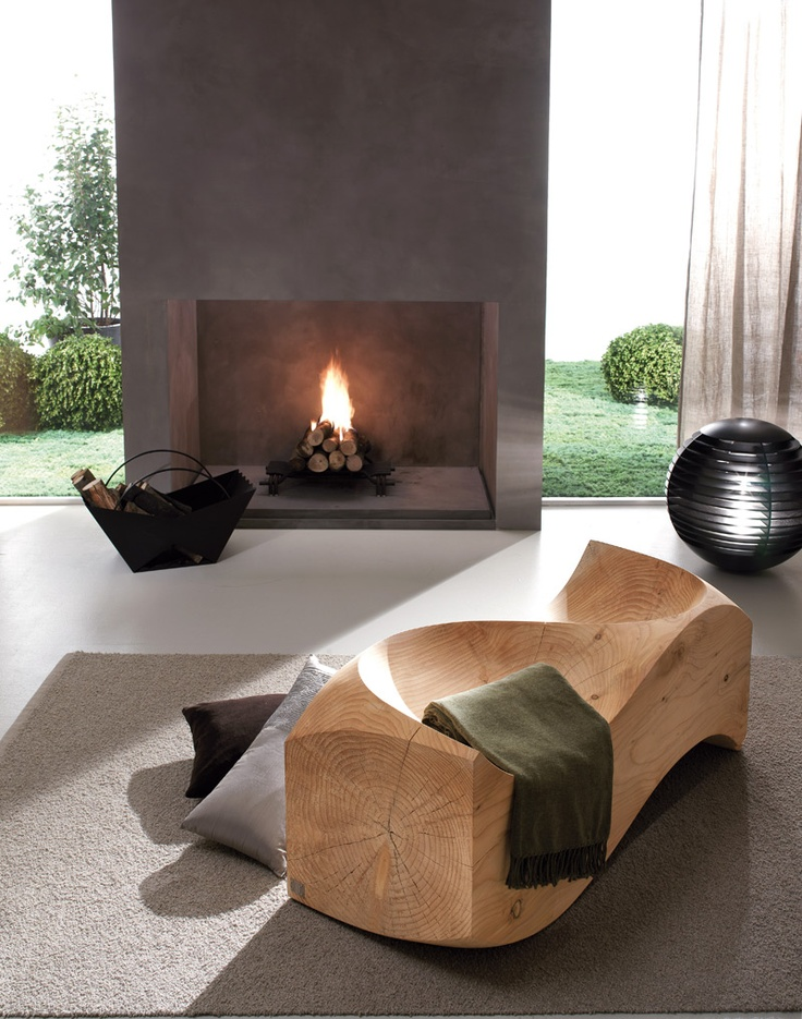 Loveseat de Riva 1920. Muebles de diseño.