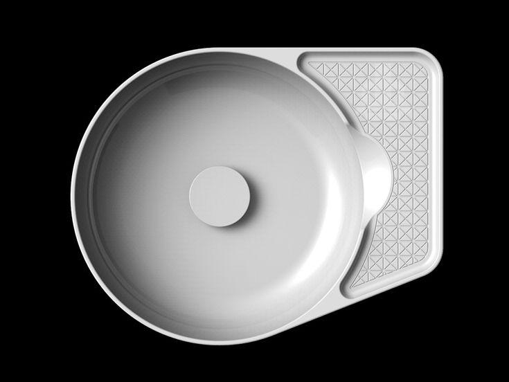 konstantin grcic   toan nguyen explore LAUFEN's saphirkeramik technologies - designboom | architecture