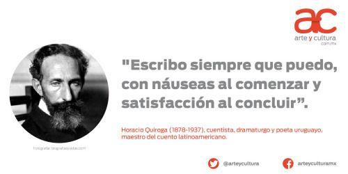 quienesesachica:  arteyculturamx:¡Hoy celebramos el cumpleaños de este gran cuentista!¿Cuál es su cuento favorito de Horacio Quiroga?  El almohadón de plumas, sin duda :3  La gallina degollada!