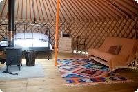 Somerset Yurt Holidays - Quantock Yurt Holidays in the UK http://www.somersetyurts.co.uk/