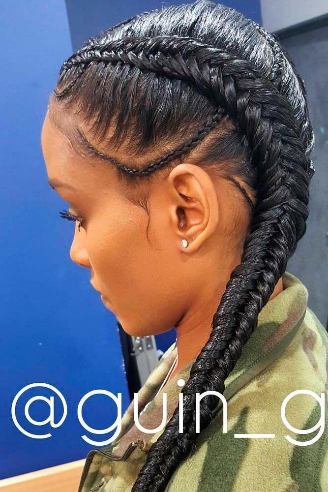 Fishtail Braids Medium Hairstyle In 2019 Pinterest Hair Styles