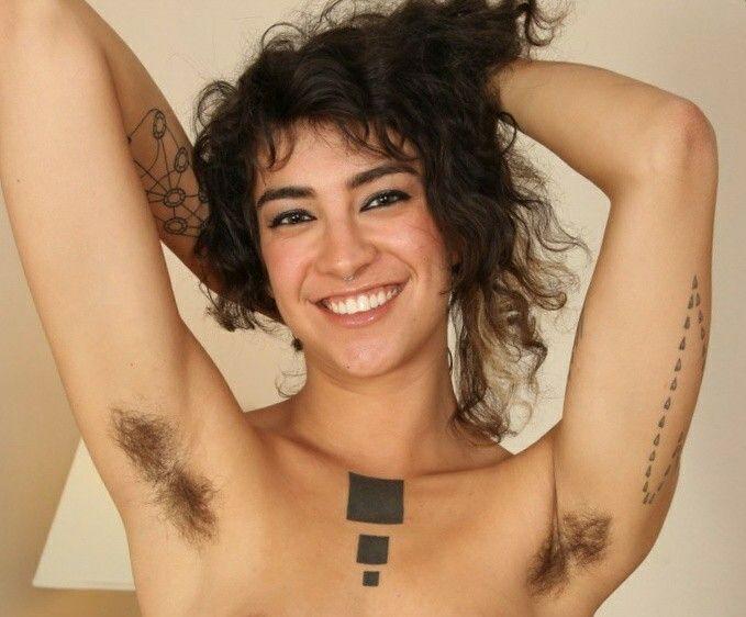 hairy armpit girls naked