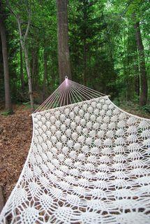Crochet hammock pattern $