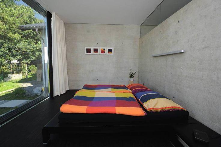 Projekty, translation missing: pl.style.sypialnia.nowoczesny Sypialnia zaprojektowane przez schroetter-lenzi Architekten