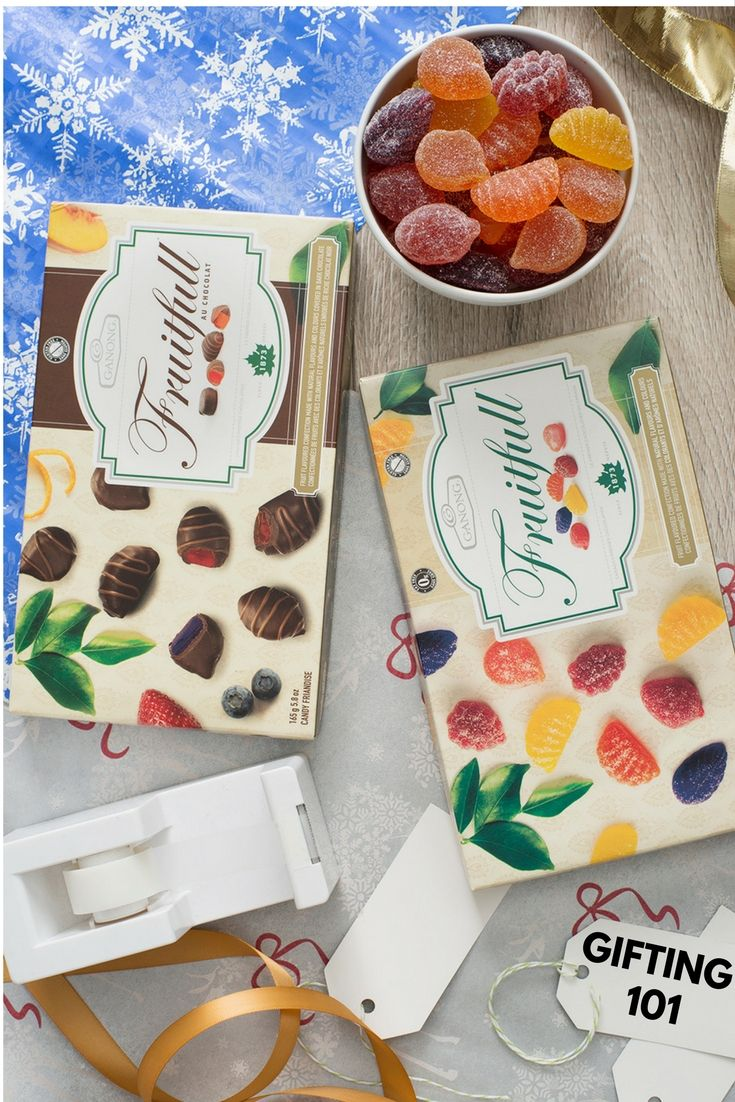Getting in the gifting mood with Fruitfull. #canadianmade #gifting #giftidea #giftspiration