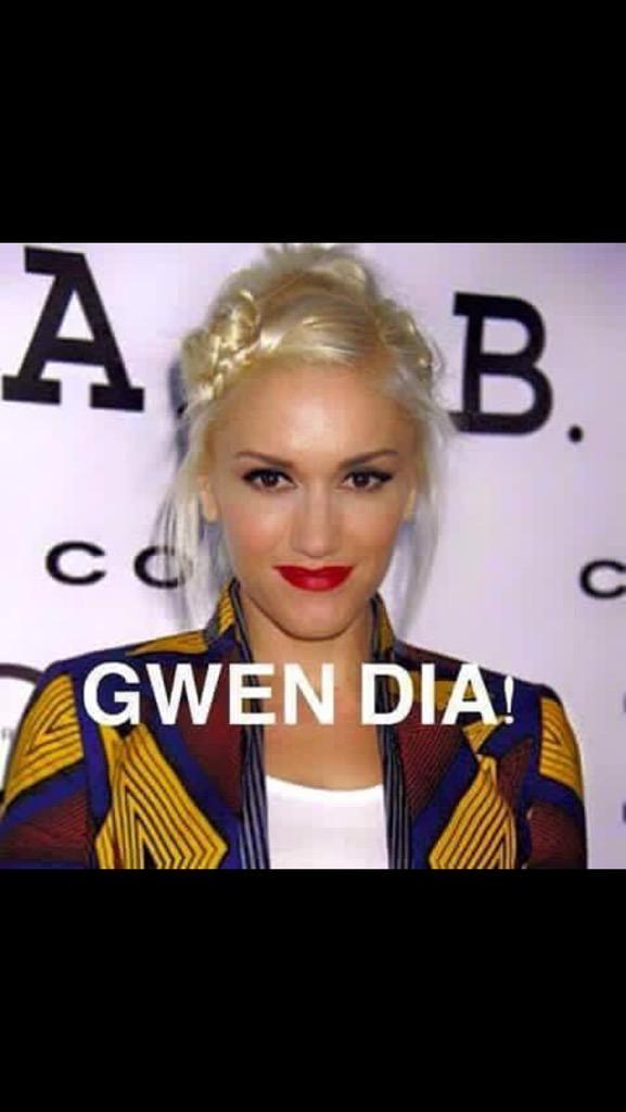 Gwen día ... buenos dias meme