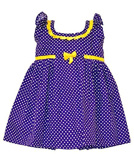 Purple And White Dotted Frock http://www.firstcry.com/moms-girl/purple-and-white-dotted-frock/656981/product-detail?sterm=polka
