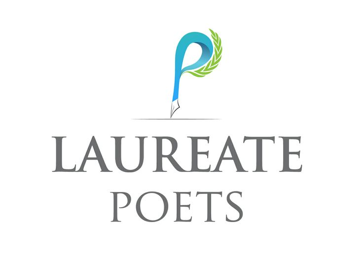 A beautiful and simple logo design for Laureate Poets.