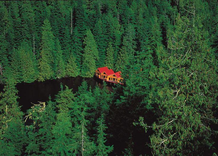Nimmo Bay Resort, a Luxury Wilderness Lodge on Canada's Wild West Coast | KickassThings
