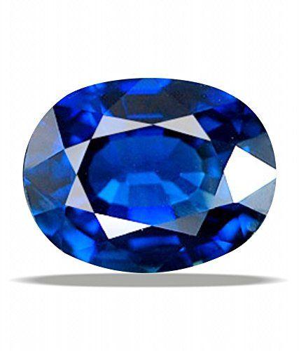 Certified Natural Blue sapphire Gemstone 7.25 ratti