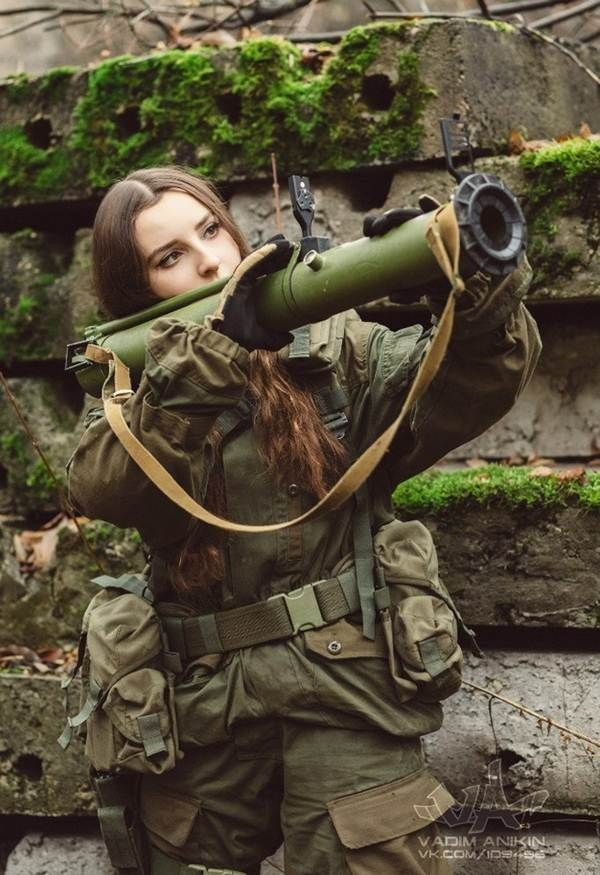 Join the Army, She Will Be the Most Beautiful Female Soldier | Orzzzz