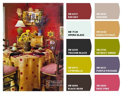 French Country Sherwin-Williams Colors   Paint colors from ...