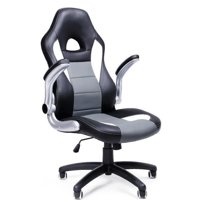 Chaise Bureau Songmics Chaise De Bureau Confortable Fauteuil De Bureau Sige Pu Toddler Rocking Chair Executive Chair Office Chair