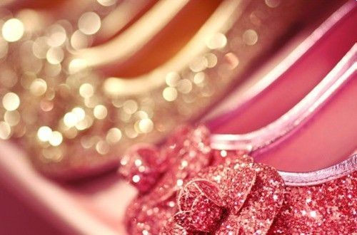 #glitter #shoes #pink #gold