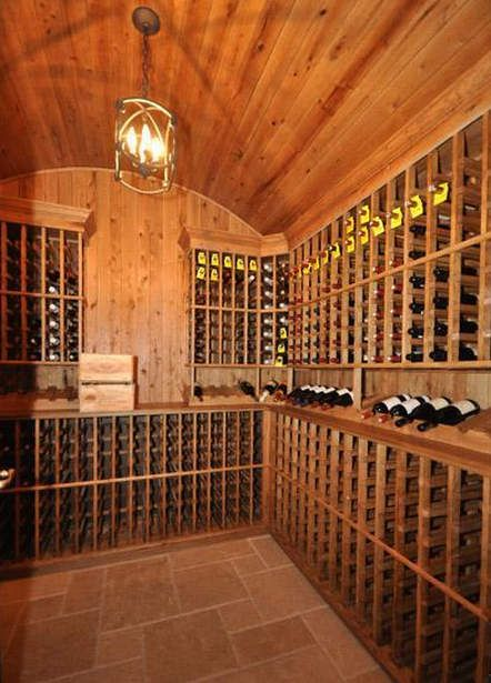 1000 images about wine rooms on pinterest hidden for Cost to build a wine cellar