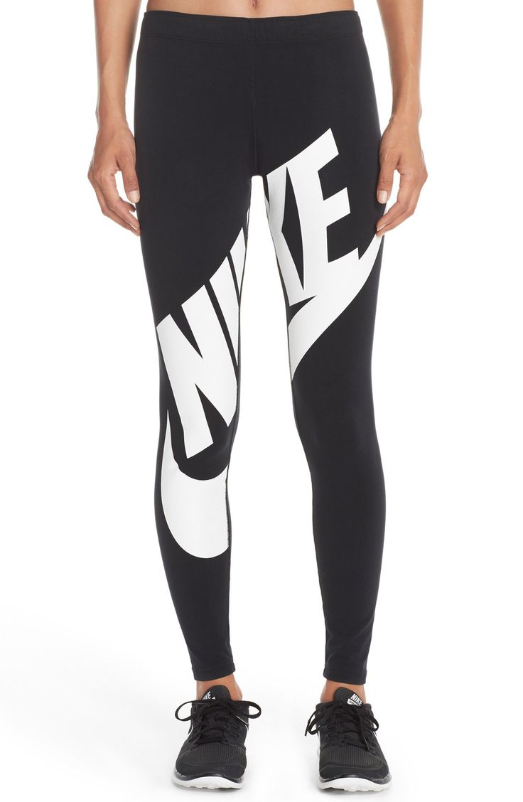 Nike 'Leg-A-See' Exploded Logo Leggings
