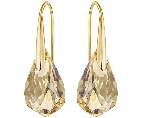 Featuring contemporary detailing and a design inspired by the natural world, this pair of gold-plated pierced earrings will be a much-admired... Shop now