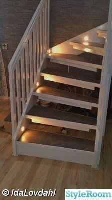 trappa,hall,belysning,trappa efter