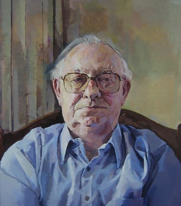 Biographical information portrait paintings and portrait drawings notable sitters and portrait price structure for Geoffrey Hayzer