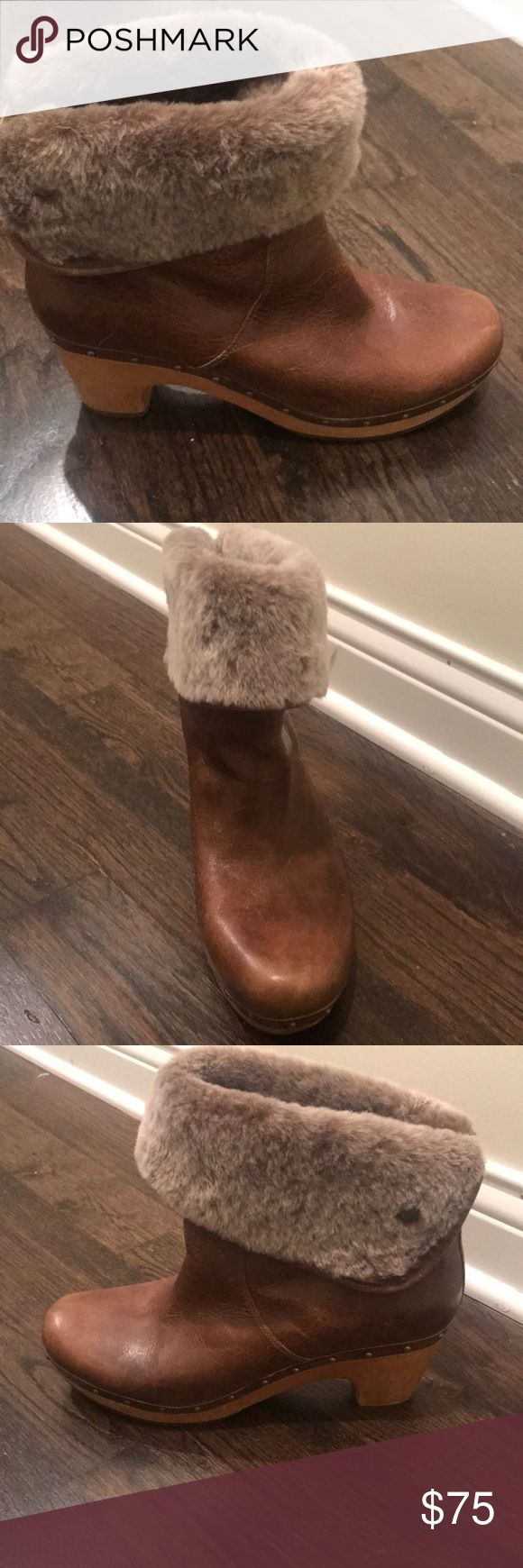 UGG AUSTRALIA LYNNEA SHEARLING LINED ANKLE BOOT Size 12. Perfect Condition. Worn once so like new. Don't have original box. UGG Shoes Heeled Boots