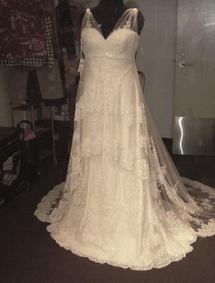 Pronovias Herves wedding dress, Size 12