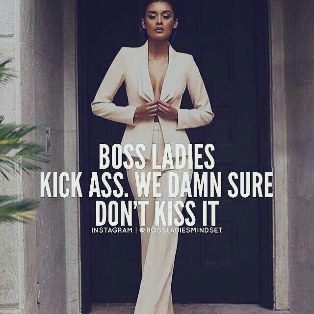 Girl Boss Quote Women Ambition Quotes Boss Ladies Woman