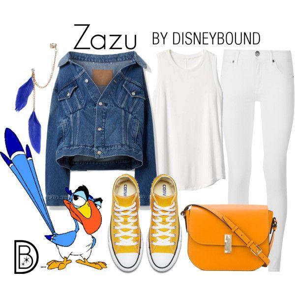 DisneyBound - Zazu