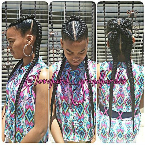 INFO IN MY BIO  #GlamourBraids  last 2 to 3 weeks #painless No Heat #beautiful #perfection #braiddesigns #braids #LaBraider #ComptonBraider #bestbraider No Sprits or Flakes Guaranteed  #protectivestyles hair added throughout the entire braid #neat #cornrows #cute #Lovedoinhair #talent #giftedhands  follow up  #flawless #GlamourBraids #lannygrindharder happy clients ALWAYS!!! #ComptonCalifornia #creative #love #like #blessed #blackhairmag #getfussy