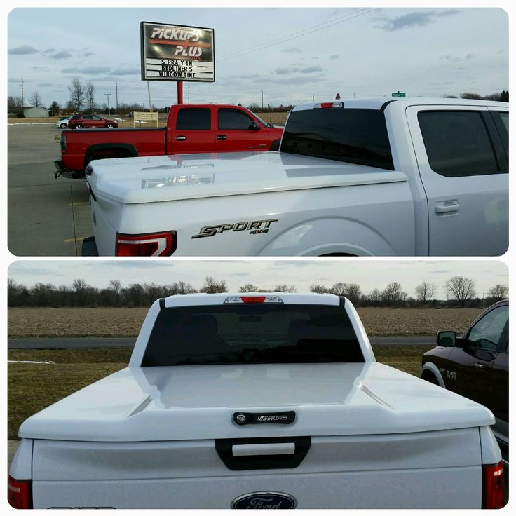 Pickups Plus Springfield installed this painted to match UnderCover Tonneau Covers Elite LX on a 2015 Ford Trucks F150.