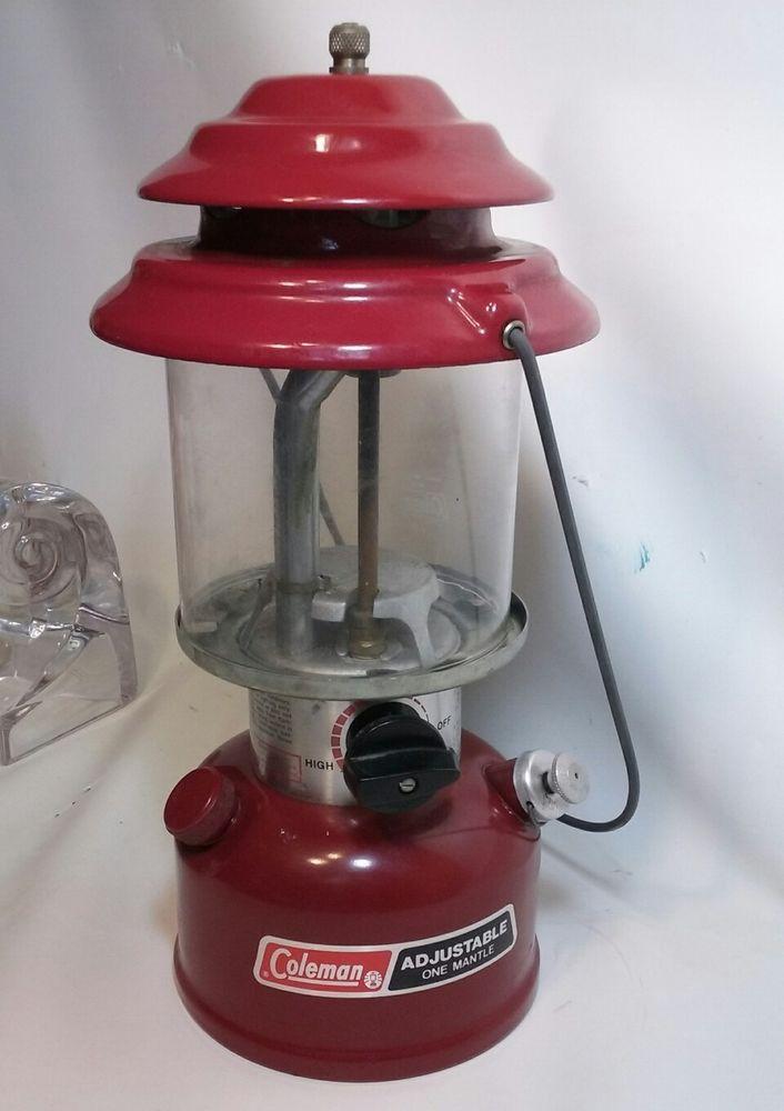 Coleman Lantern Model 286 Dark Red Single Mantle