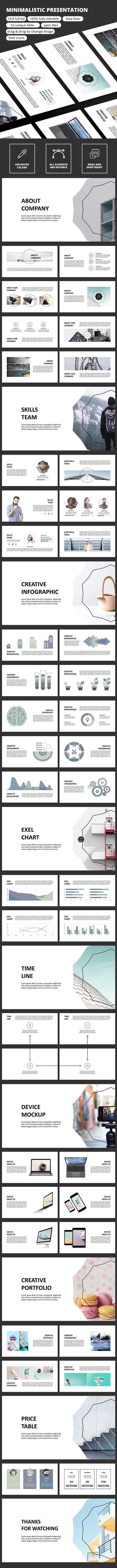 Minimalistic - PowerPoint Presentation Template