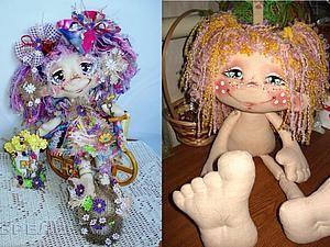 Материалы, из которых я шью тела моих кукол. - Ярмарка Мастеров - ручная работа, handmade