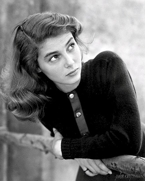 Pier Angeli, 1950s  via theniftyfifties