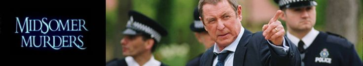 Midsomer Murders ... delightful English mystery series. Watch and fall in love with the characters and the scenery - beautiful. Almost as good as going abroad ;-)