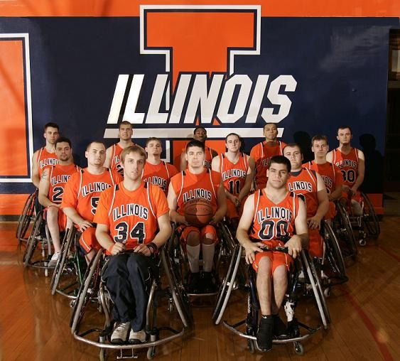 Did you know that University of Illinois was the first college in the United States to establish a collegiate wheelchair basketball team? Check out there schedule! http://www.disability.illinois.edu/athletics/national-intercollegiate-wheelchair-basketball-tournament