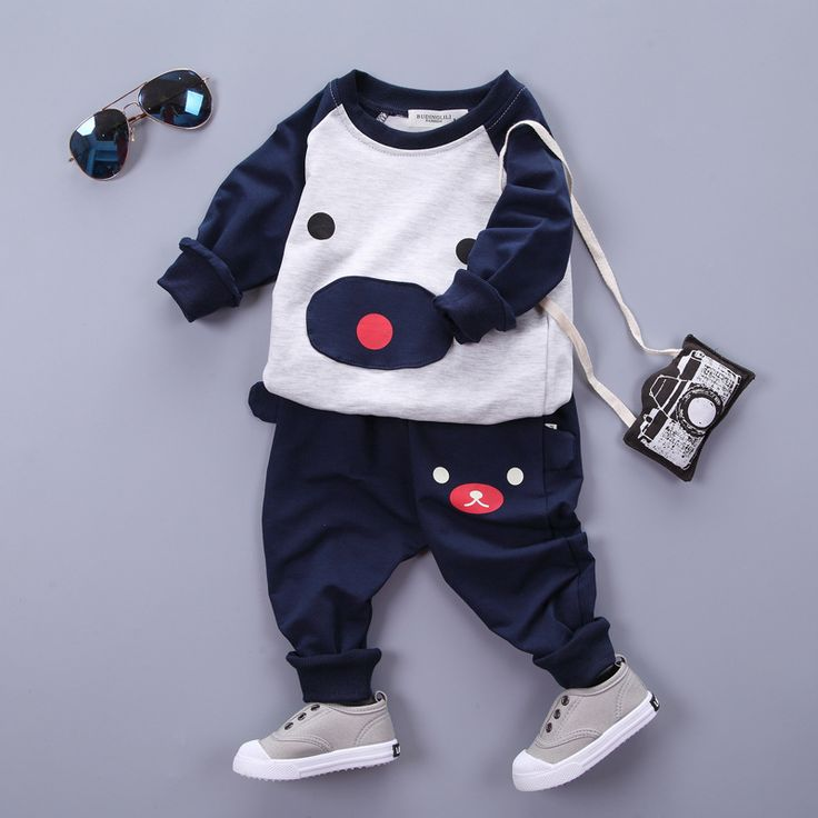 http://babyclothes.fashiongarments.biz/  6M-4T 2016 New Toddler Boys Clothing Children Autumn Boys Bear Clothes Cartoon Kids Boy Clothing Set T-shit+Pants 100% Cotton, http://babyclothes.fashiongarments.biz/products/6m-4t-2016-new-toddler-boys-clothing-children-autumn-boys-bear-clothes-cartoon-kids-boy-clothing-set-t-shitpants-100-cotton/,  6M-4T 2016 New Toddler Boys Clothing Children Autumn Boys Bear Clothes Cartoon Kids Boy Clothing Set T-shit+Pants 100% Cotton  Color:Red, Green,Navy Blue…