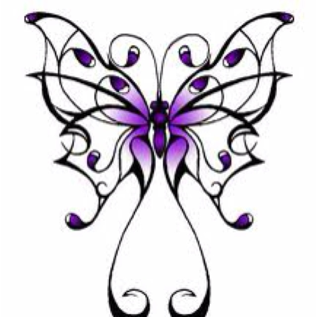 Purple butterfly | Baby Baby Baby | Pinterest