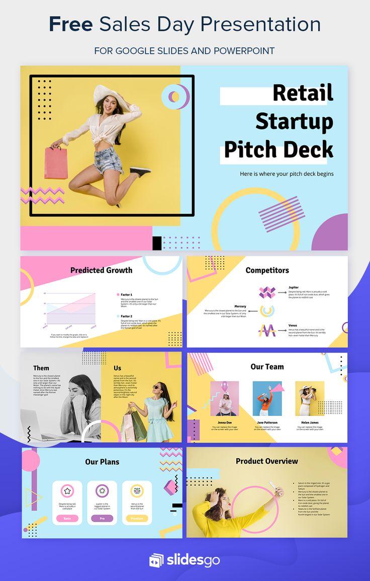 Retail Startup Pitch Deck Presentation Free Google