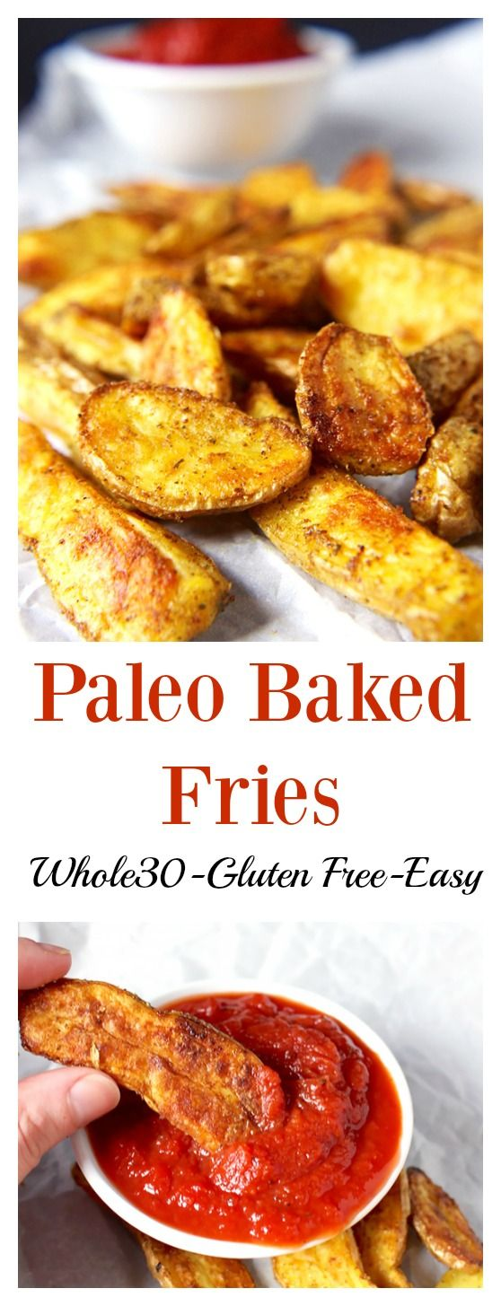 Paleo Crispy Baked Fries