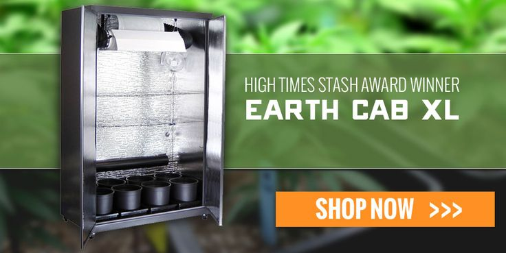 Grow easy with the earth cab pro cabinetgrow for Indoor gardening for dummies