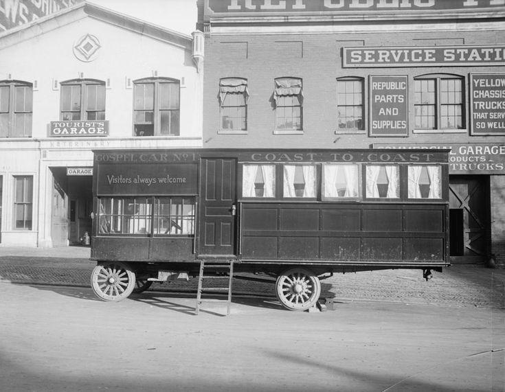 Викторианские дома на колесах. Ретроспектива. Ридус