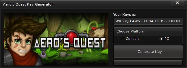 AERO'S QUEST KEY GENERATOR Hello everyone, welcome on our site, today we have a new KEYGEN for you, this time the game that you'll …