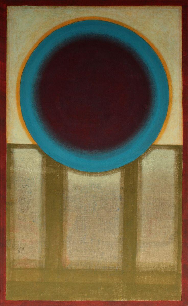 tomasz biłka op, NIEBO OTWARTE akryl na płótnie, 130 x 70 cm 2013.