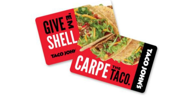 !!! Claim your Taco John's Gift Card from Quikly!! Click on the link above and opt in. Then you'll receive a text message to claim you freebie when it goes live. Share your link to get notified early, so you can get a head start and notified up to 99 minutes before...
