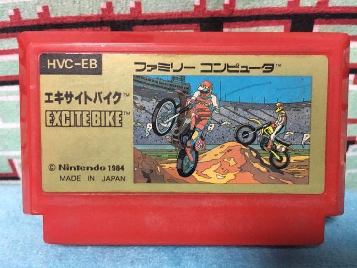 Excitebike Famicom Japan NTSC-J Nintendo Family Computer Excite Bike