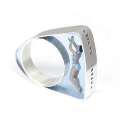 Helen Noakes - Swimmer ring