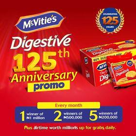 Mcvities Biscuits 125th Anniversary Promo