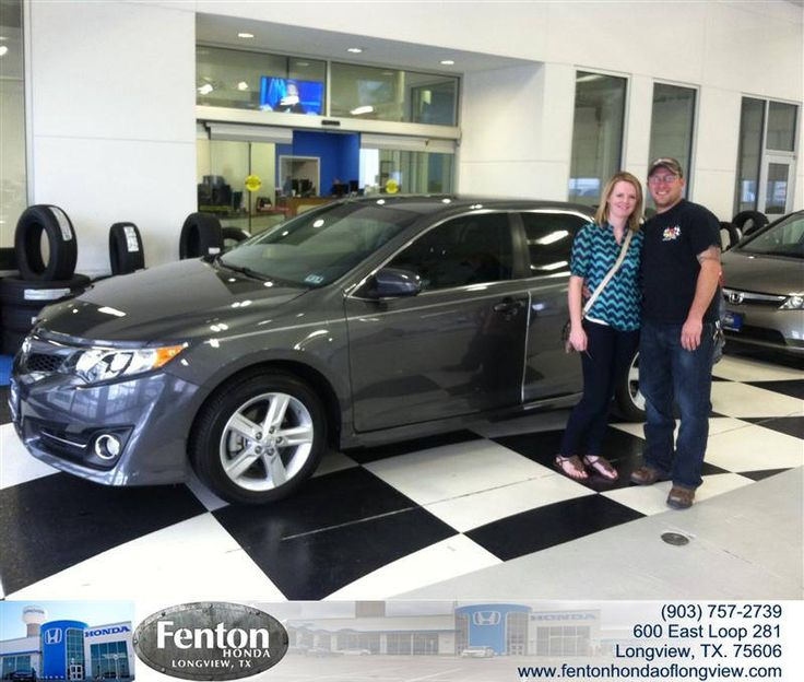 Congratulations to Crystal Brazil on your #Toyota #Camry purchase from Raul Hernandez at Fenton Honda of Longview! #NewCar