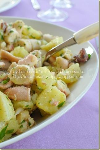 Insalata di polpo e patate al vapore